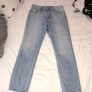 Light wash Madewell jeans!